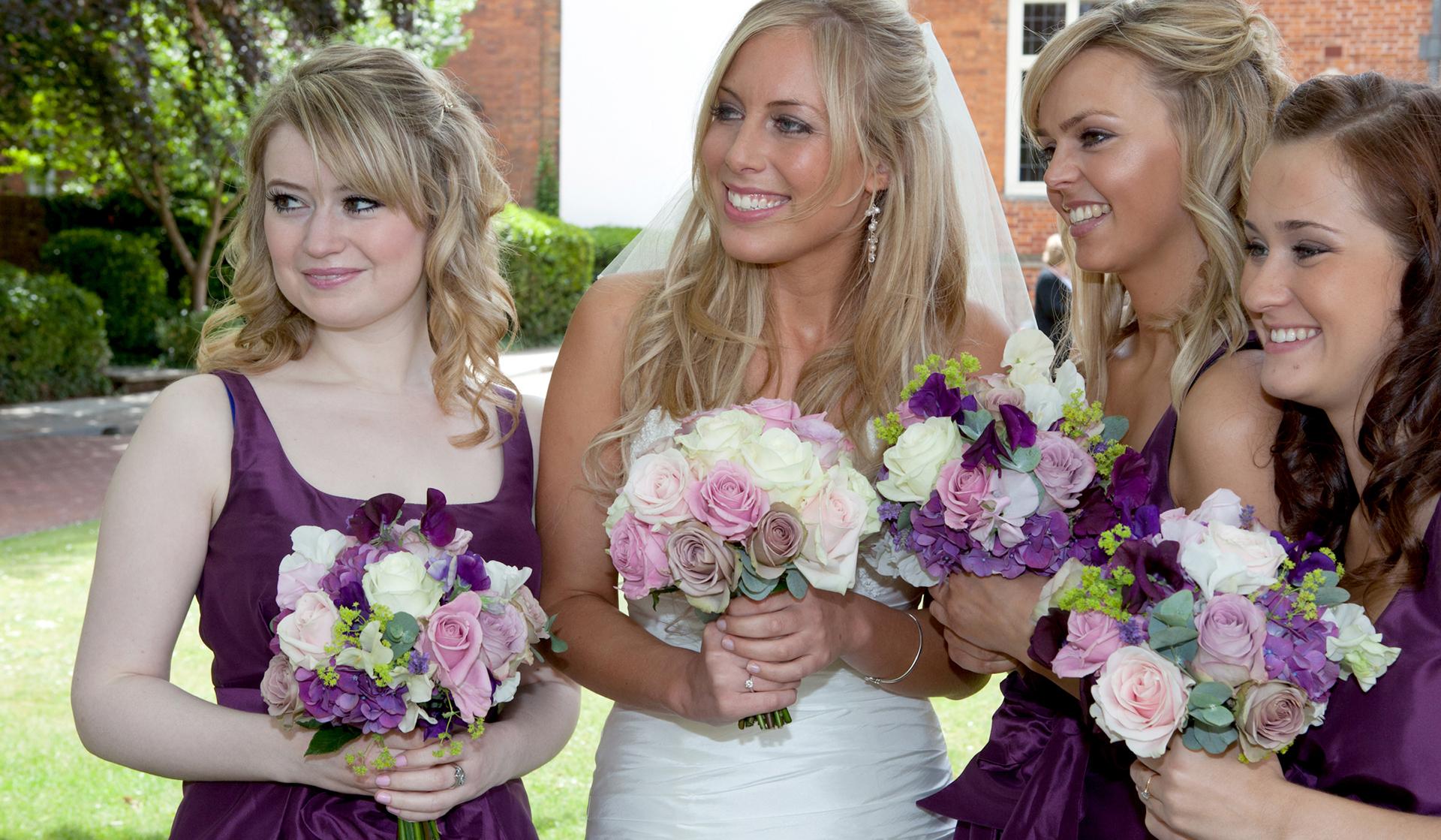 bridal make up by arabella for hannah dynes wedding