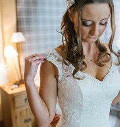 Nikki Bridal make up and hair, The Walled Gardens at Cowdray, Midhurst, West Sussex