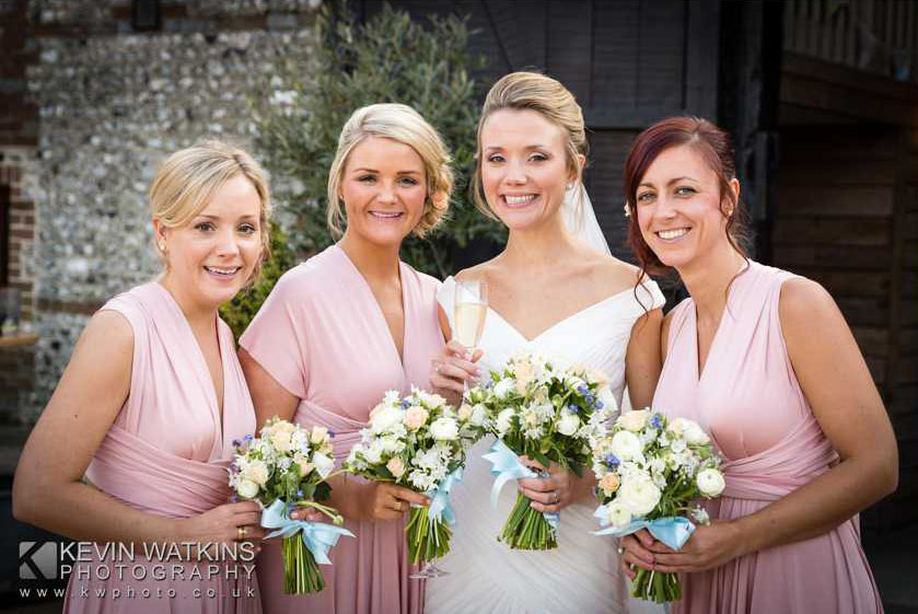 Caroline Bridal make up and hair, Upwaltham Barns, West Sussex