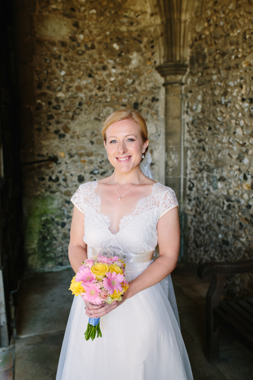 bridal make up by arabella for leonie grenfell wedding