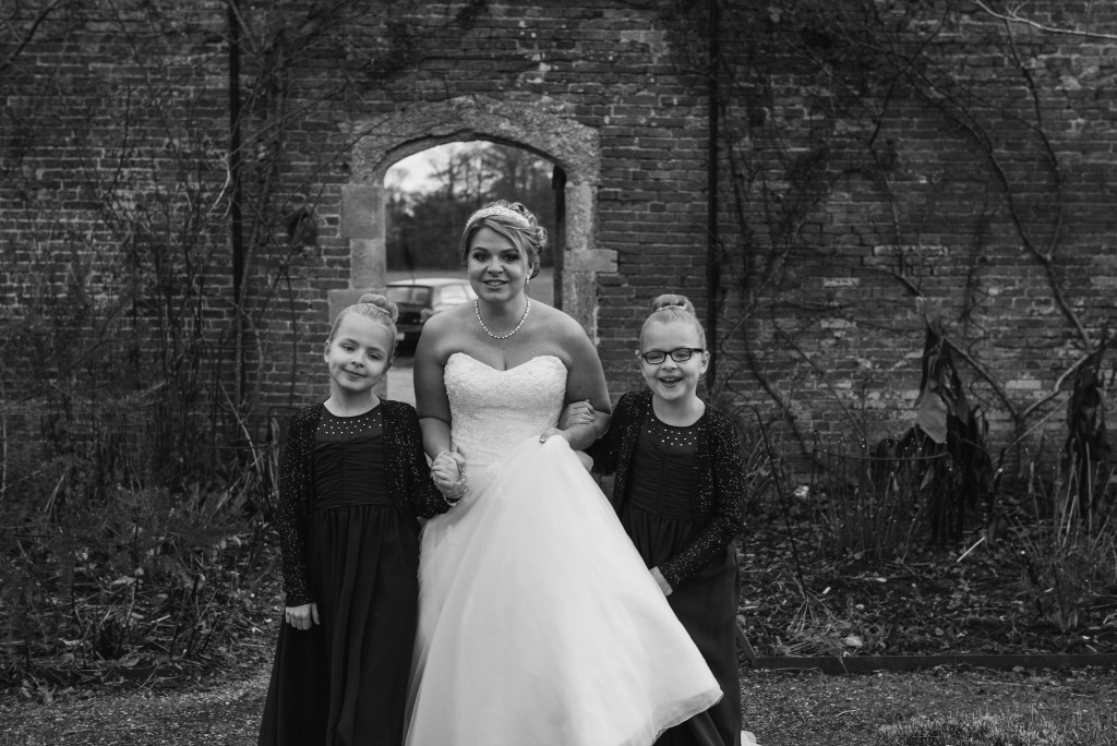 Bridal make-up and hair, The Walled Gardens at Cowdray, Midhurst, West Sussex