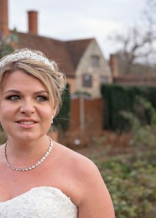 Bridal make up and hair, The Walled Gardens at Cowdray, Midhurst, West Sussex