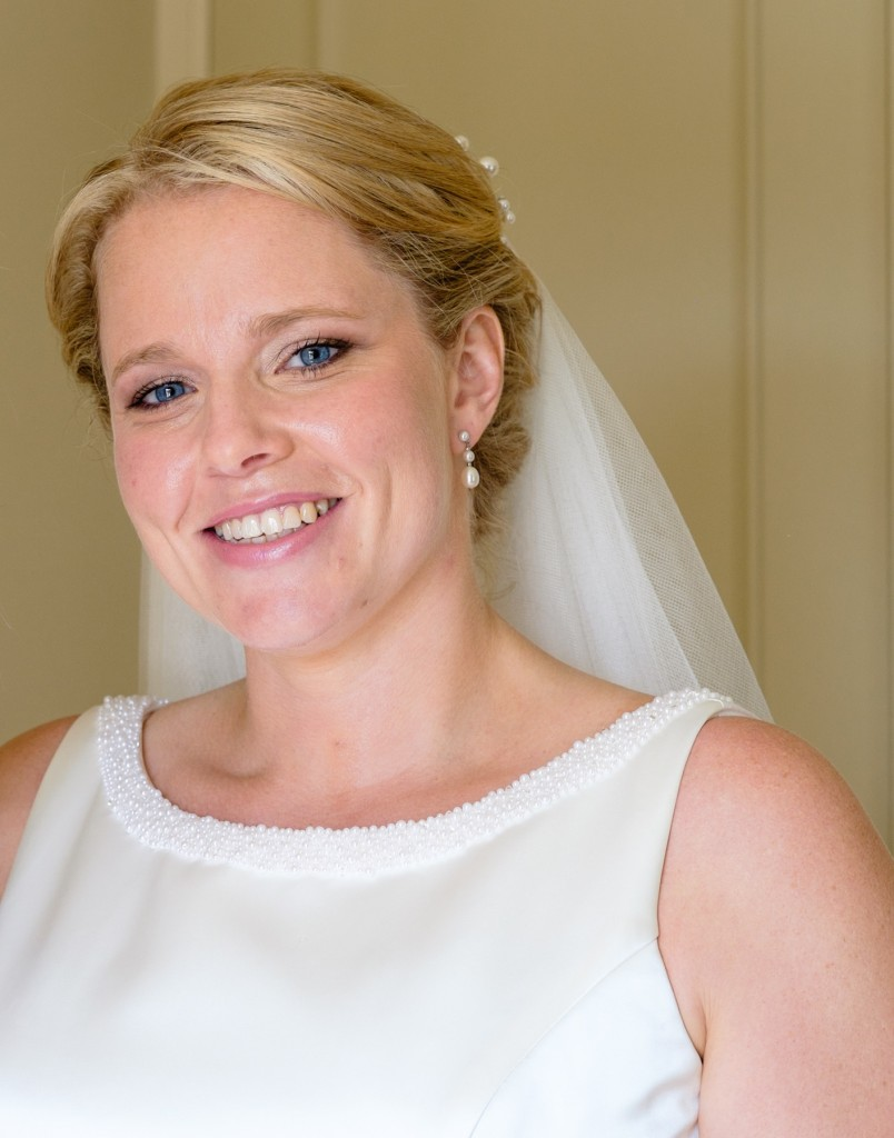 Bridal make up and hair, West Witterings Marquee, Chichester, West Sussex