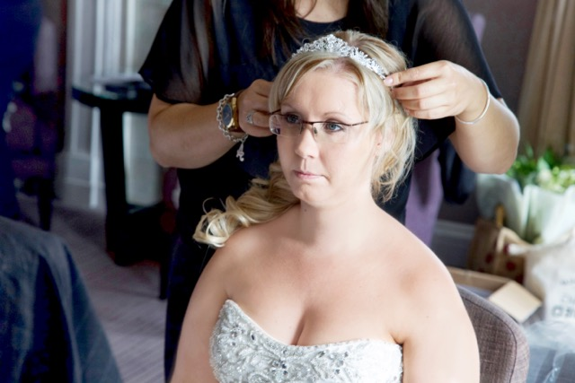 Michelle bridal make up and hair, Milton Hill House, Oxfordshire