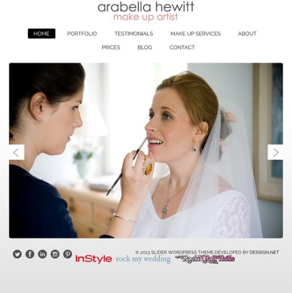 bridal make up and hair