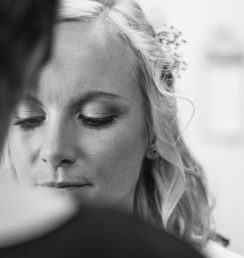 Kathy bridal make up and hair, Swallowfield Park wedding venue, Reading