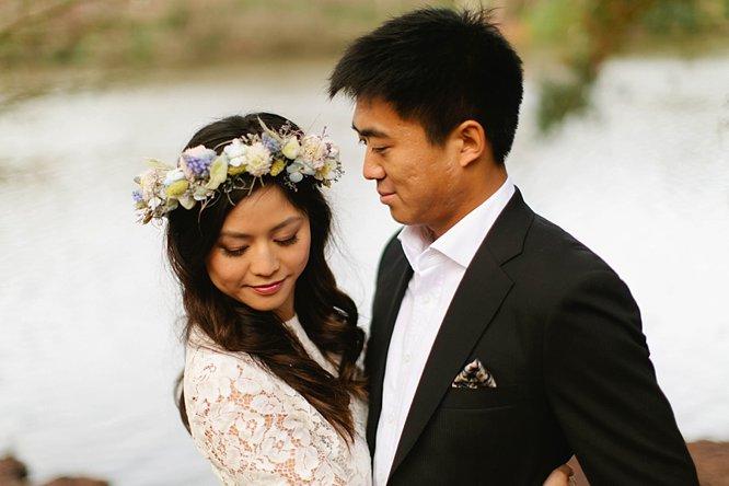 Windsor wedding venue bridal hair and makeup