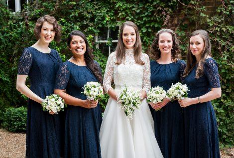bridal make up and hair, Godalming wedding venue, Surrey
