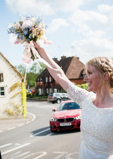 bridal make up and hair, Chiddingfold wedding venue, Surrey