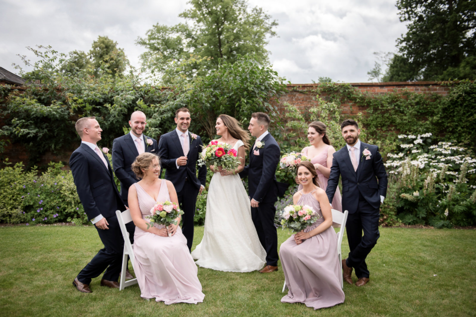 bridal make up and hair, Wasing Park wedding venue, Berkshire