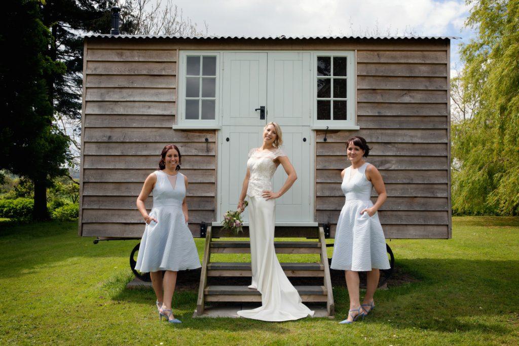 bridal make up and hair, Tithe Barn wedding venue, Hampshire