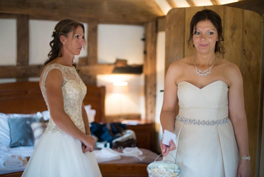 bridal make up and hair, Cain Manor wedding venue, Surrey