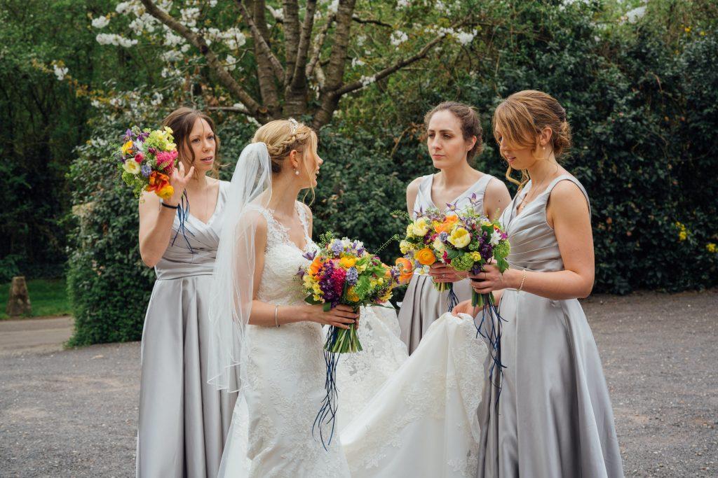 bridal make up and hair, Clock Barn Hampshire